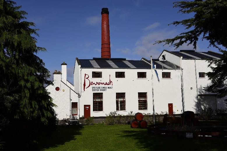 Benromach Distillery Tour