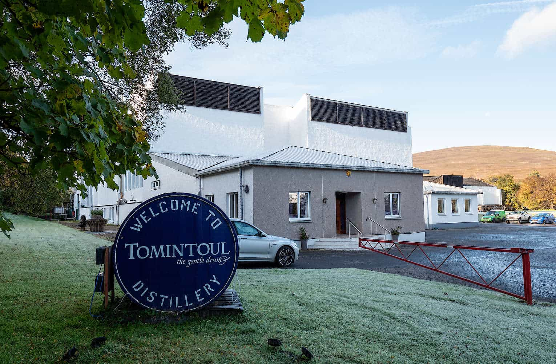 Tomintoul Distillery Tour